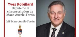 Yves robillard - Député de la circonscription de Marc-Aurèle-Fortin